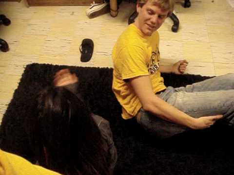 How to leg wrestle with Stephanie Rabin
