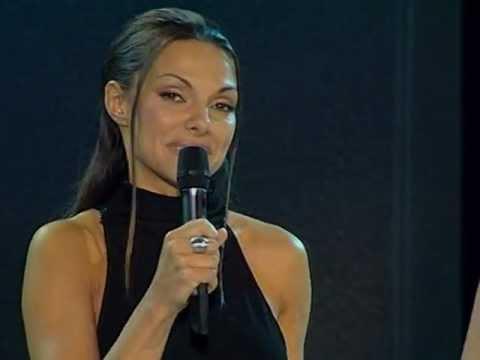 Vlatka Pokos - zahvaljujemo svim pokroviteljima @ Miss BiH 2001