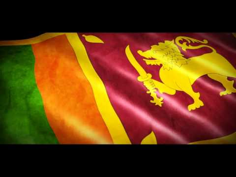 Sri Lanka National Anthem With Animated Flag video