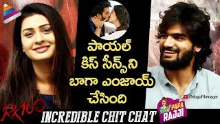 Kartikeya and Payal Rajput Exclusive Interview | RX 100 Movie Exclusive Interview