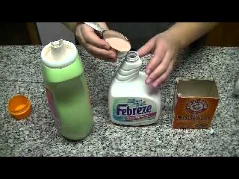 DIY:  Make your own Febreze fabric refresher!