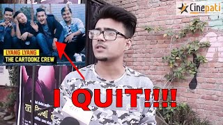 Why Sabin Karki left Cartoonz Crew.. Gets Emotional