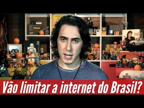 Vão limitar a internet do Brasil? #InternetJusta