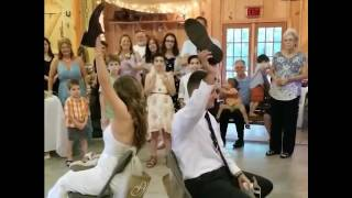 BEST WEDDING Game |THE SHOE GAME (FUNNY) Cute Married couple funny Question and Answer Marriage