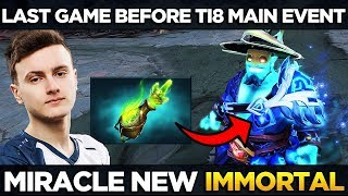 LIQUID vs VP - Miracle First Time New Immortal Storm Spirit Last Game Before TI8 Main Event - Dota 2