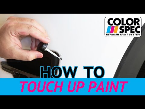 How To Use Touch Up Paint