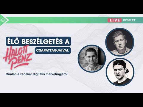 Élő beszélgetés a Halott Pénz csapattagjaival- Minden a zenekar digitális marketingjéről