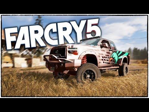 СЛУЧАЙНО НАШЕЛ СЕКРЕТНЫЙ ВНЕДОРОЖНИК В Far Cry 5! Сэндкинг, ты ли это? (Far Cry 5 кооператив #5)