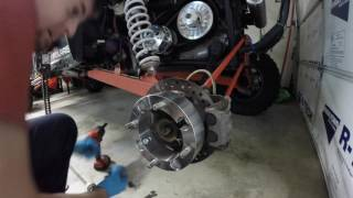 How to grease rzr1000 Wheel Bearings with Two Guys Hobbies wheel bearing greaser