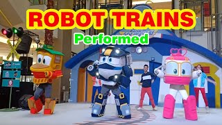 ROBOT TRAINS Performed at TANG CITY MALL Tangerang