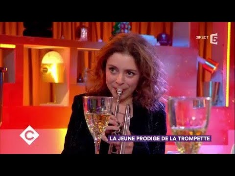 Lucienne Renaudin-Vary, jeune prodige de la trompette - C à Vous - 14/12/2017
