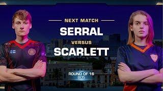 Serral vs Scarlett ZvZ - Round of 16 - WCS Valencia 2018 - StarCraft II