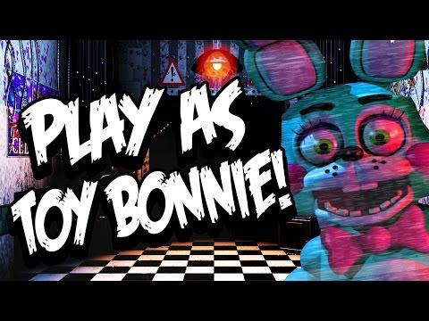 Bonnie Simulator 2: Part 1 - PLAY AS TOY BONNIE!