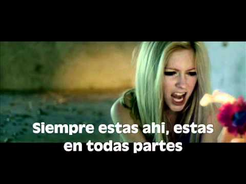 Wish You Were Here  - Avril Lavigne (traducida Al Español) video