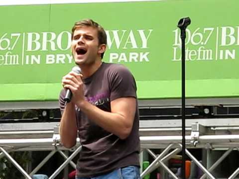 Next To Normal Bryant Park 2009 I M Alive Kyle