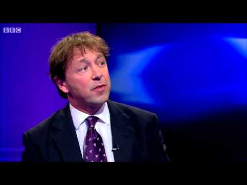 Nick Clegg (Nazi) & Nigel Farage (Winston Churchill) EU Debate