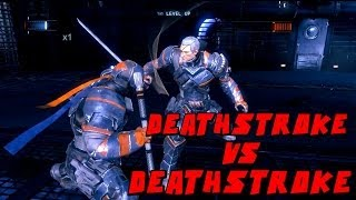 Batman Arkham Origins Deathstroke VS Deathstroke Mod