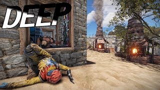 GOING DEEP ON EARLY CLAN BASE! (Rust Solo)