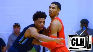 Jayson Tatum vs Miles Bridges - Epic Battle at Cancer Research Classic 2016