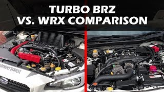 TURBO BRZ VS. WRX FA20 Engine Comparison