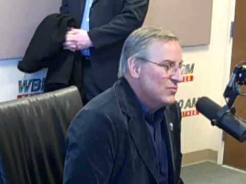 Terry Pegula & Ted Black in studio with Tom Bauerle on WBEN