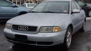 1998 Audi A4 1 8T Quattro 5 Speed Sedan