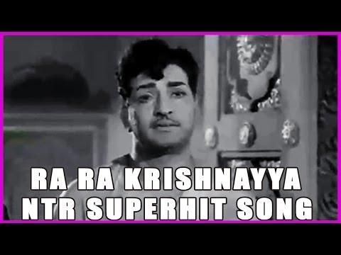 Ra Ra Krishnayya -ntr All Time Superhit Song - In Ramu Telugu Movie video