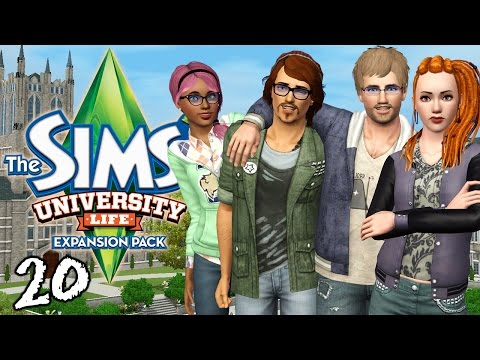 Let's Play The Sims 3 University Life - Ep. 20 - Poison Kiss & Vicious Protesters!