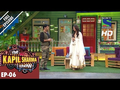 The Kapil Sharma Show–Episode 6–दी कपिल शर्मा शो–  Aishwarya Rai Bachchan In Sarabjit –8th May 2016