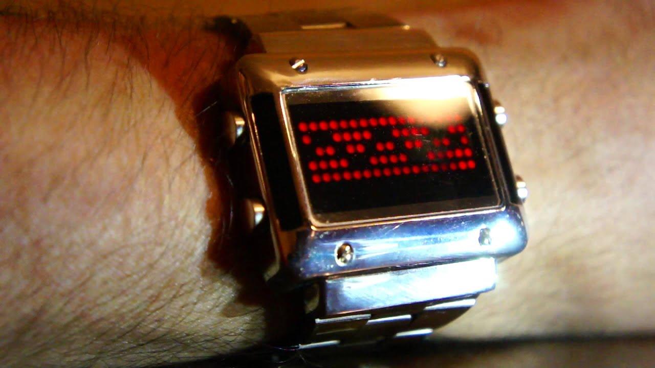 Люминесцентные часы своими руками