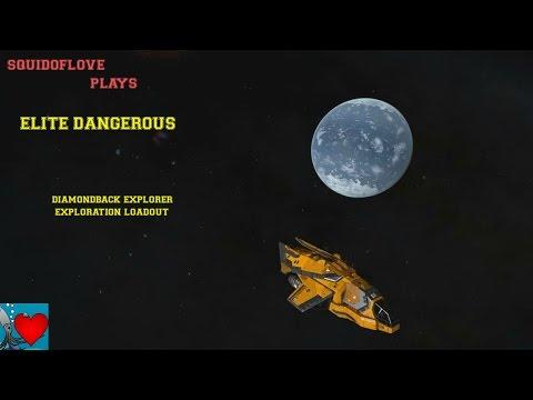 Elite Dangerous - Diamondback Explorer Exploration Loadout