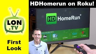 HDHomerun Beta Channel for Roku ! First Look