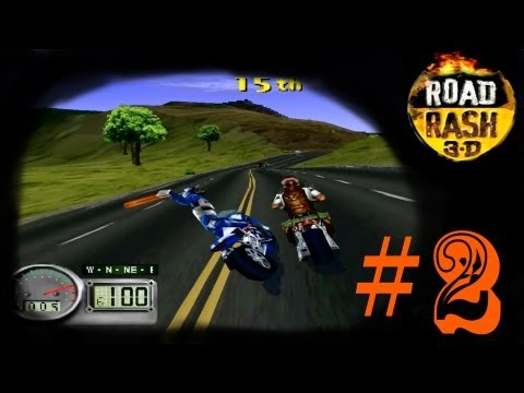 Road Rash 3D (PS1): Not in Kansas