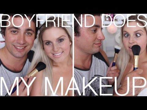Boyfriend Does My Makeup! ♡ Shaaanxo
