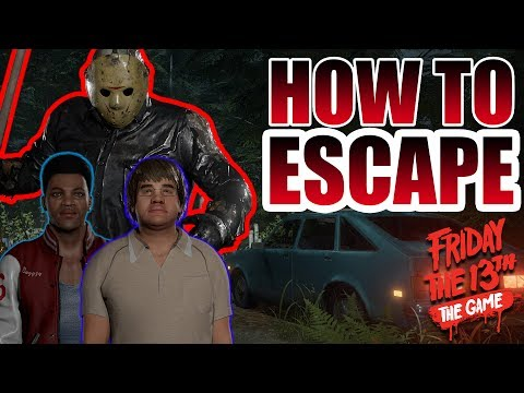 EVERY WAY to ESCAPE in Friday the 13th: The Game - Step by Step Tutorial