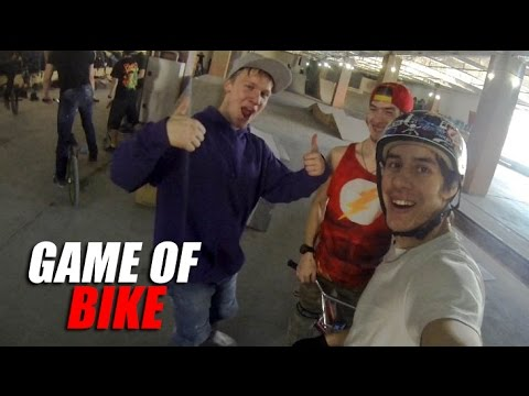 Game of BIKE #1 - Игорь Коркин, Дима Биктагиров, Дима Гордей   Школа BMX Online