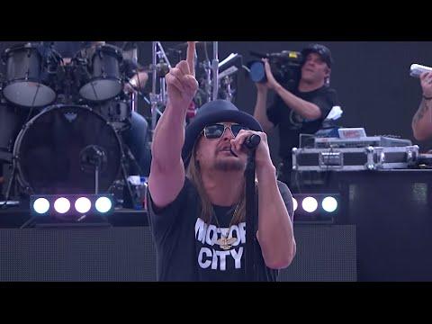 Kid Rock First Kiss Live at Daytona 500