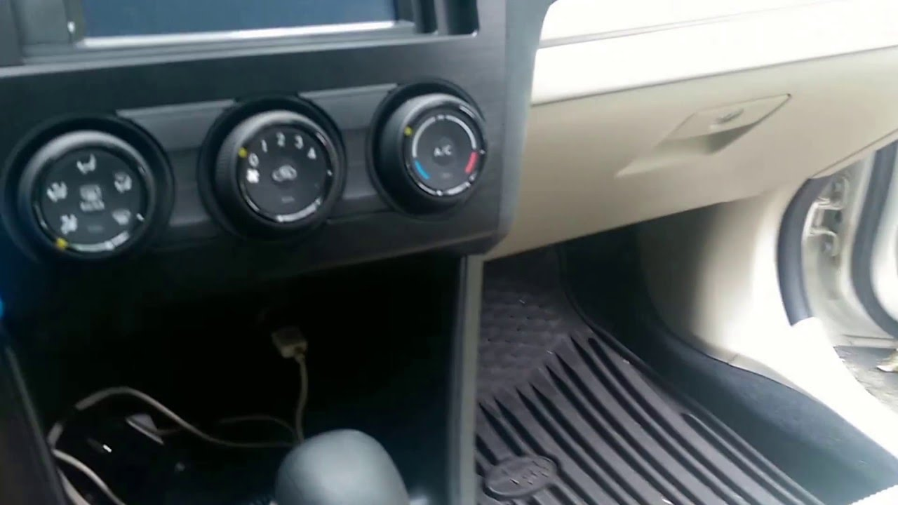 Subaru    XV    Crosstrek radio    de   installation  YouTube