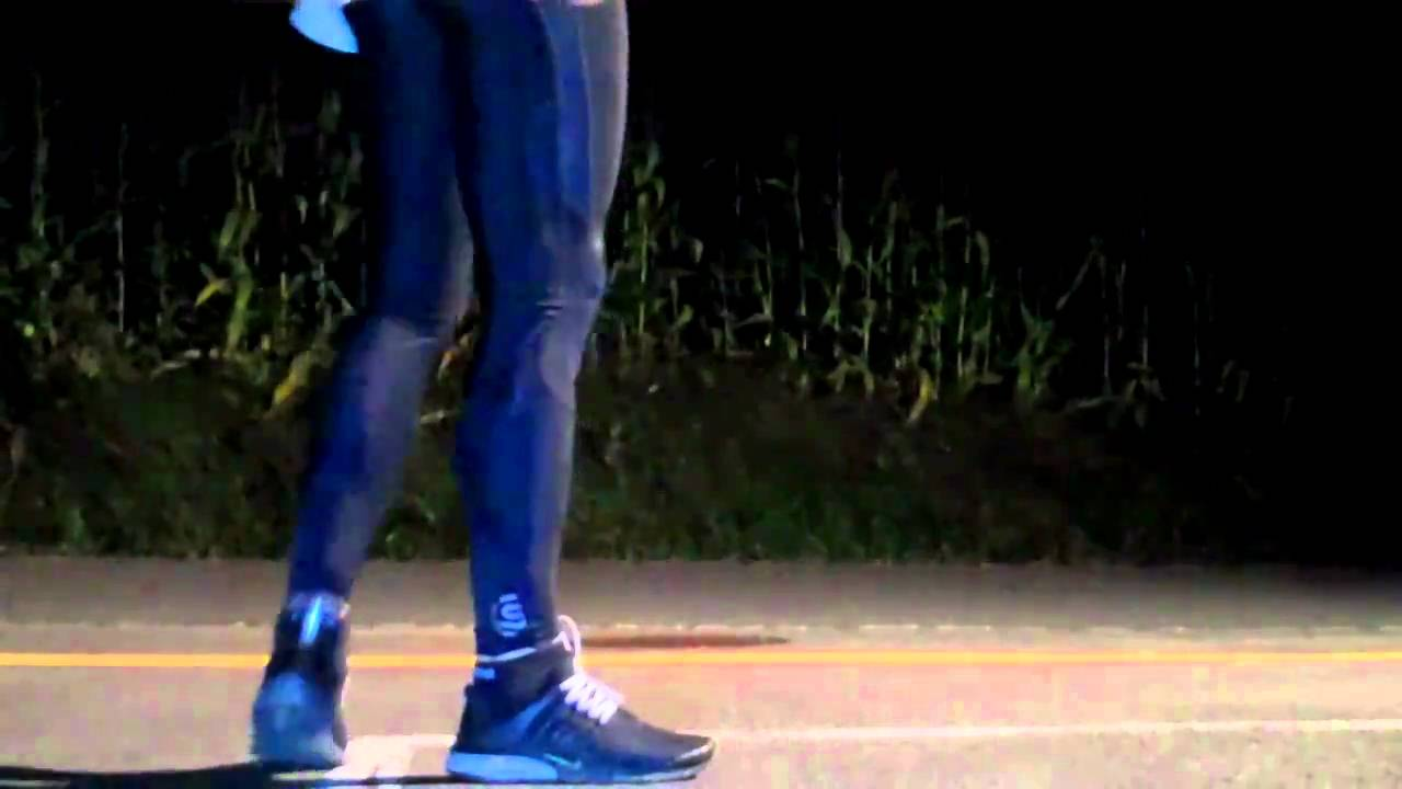 testing of: skins a400 active (long tights) - YouTube