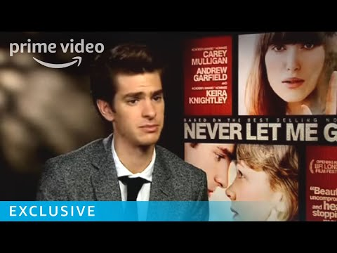 The Charasmatic Andrew Garfield on Kazuo Ishiguro's Never Let Me Go   Amazon Prime Video