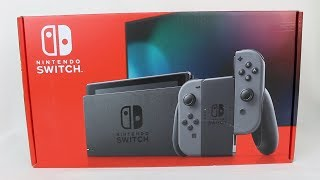 NEW Nintendo Switch Unboxing & Setup!