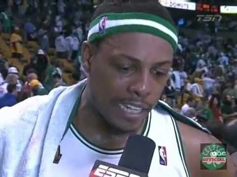 Paul Pierce Highlights vs.Los Angeles Lakers Game 1 Finals 2008 - 22 points Finals MVP