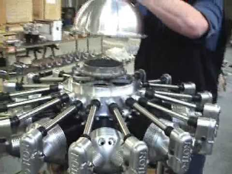 Rotec Radial Engine R3600 150hp