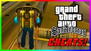 GTA San Andreas Xbox 360 CHEATS - Best & Funny San Andreas Xbox 360 Remastered Cheats! (GTA: SA)
