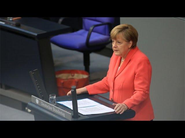 Merkel Calls on Europe to Unite on Migration Crisis