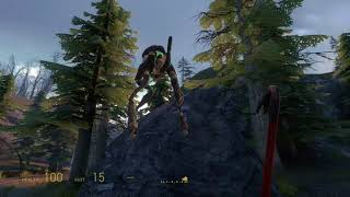 Half Life 2 floating Hunter