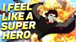 PUBG MOBILE : I FEEL LIKE A SUPER HERO
