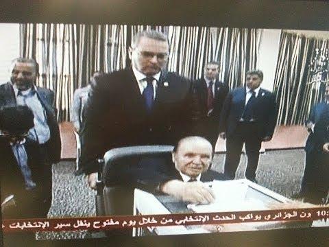 Algérie : le président sortant Bouteflika a voté en fauteuil roulant