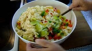 Těstovinový salát podle Jardy