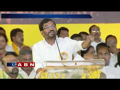 Minister Somireddy Chandramohan Reddy speech at TDP Dharma Porata Deeksha in Proddatur | ABN Telugu